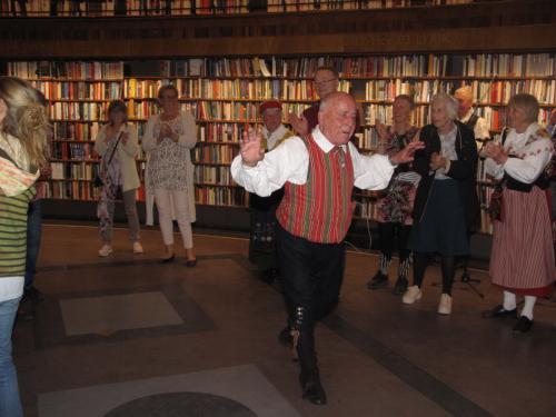 2019 04 27 Kulturnatta på Sthlms Stadsbibliotek