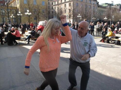 2016 04 29 Firande av Internationella Dansens Dag i Kungsträdgården