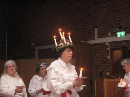 2017 12 09 Luciafirande i Söderledskyrkan